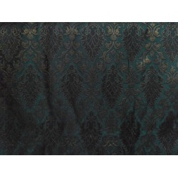 Spun viscose  Brocade fabric -superb mughal pattern