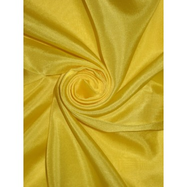 """RICH Lime Yellow COLOR PLAIN HABOTAI SILK 44""""by the yard"""