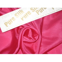 RICH Hot Pink COLOUR PLAIN HABOTAI SILK 54""