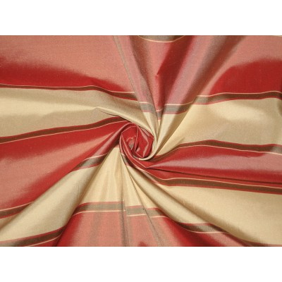 Silk Taffeta Fabric 54 Quot Light Red Olive Green And Light