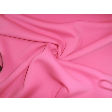 """Bright pink neo Knit fabric 59"""" wide-thin for fashion wear scuba/23"""
