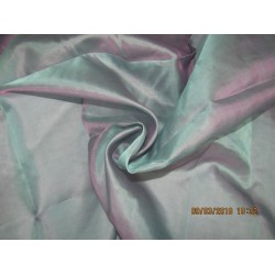 Silk Organza fabric blue x pink color 54'' wide pkt #28[6]