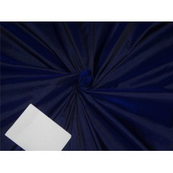 100% Pure SILK Dupioni FABRIC Blue x Black PKT12[1]