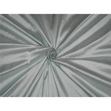 """100% Silk Dupioni fabric 54"""" wide- crystal blue color DUP251 by the yard"""