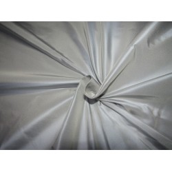 "100% PURE SILK TAFFETA BLUE  WITH A CREAM SHOT  54"" 35  momme TAF305[4] by ther yard"