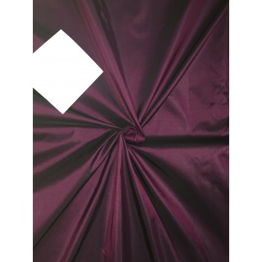 """Pure SILK TAFFETA FABRIC Indian Pink x Black color TAF56[2] 54"""" wide sold by the yard"""