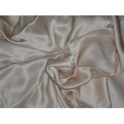 """CREPE SATIN FABRIC 44""""WIDE NUDE COLOR 110 GRAMS"""