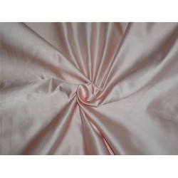 "55% SILK,45% VISCOSE DUTCHESS SATIN PEACH COLOR 54""INCHES-37 mm weight"