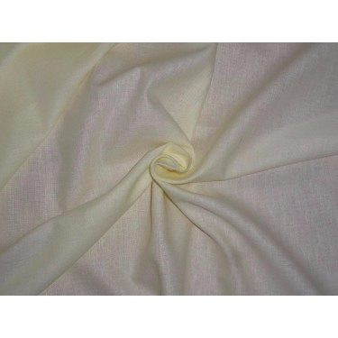 LINEN/ COTTON /LYOCELL FABRIC 58 INCH WIDE YELLOW COLOR