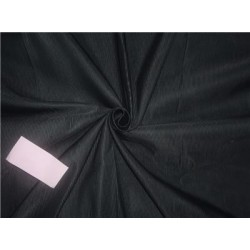 100% SILK TAFFETA FABRIC PIN STRIPE 44''- dustry green