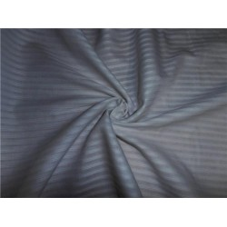 "WHITE COTTON VOILE 44"" WIDE - RIB STRIPES"