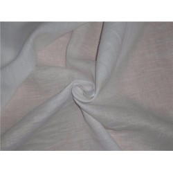"""100% linen 60s lea Linen fabric~ White -58"""" wide by the yard"""