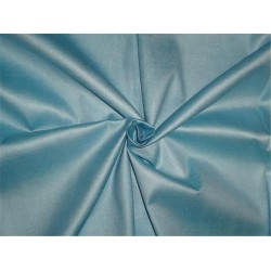 """TUSSAR SILK 40 % / VISCOSE 60% FABRIC 44"""" ICY BLUE COLOR"""