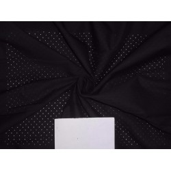 60'S LYOCELL FABRIC 56 INCH WIDE PALE BLACK COLOR LASER CUT