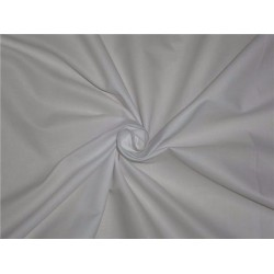 "WHITE POLYESTER COTTON FABRIC 58"" WIDE"