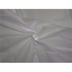 "COTTON CAMBRIC STIFF FABRIC-44"" WHITE"