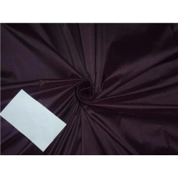 100% silk dupion aubergine color 54""
