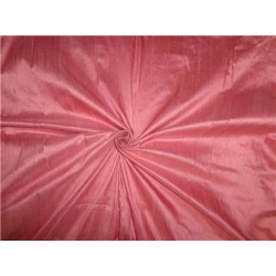 100% PURE SILK DUPIONI FABRIC dusty rosette 54""