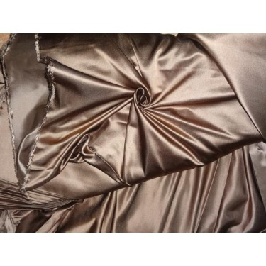 DUTCHESS SATIN 54 INCHES BROWN COLOR