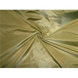 """100% PURE SILK TAFFETA FABRIC DUSTY LIME  54"""" wide sold by the yard"""