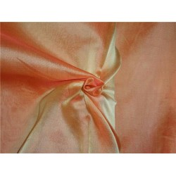 "silk organza iridescent orange x yellow 118"" inches wide by the yard"