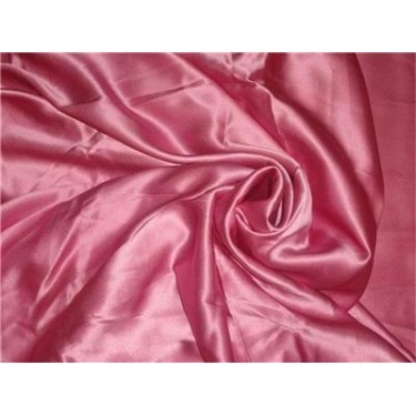 """100% PURE SILK SATIN FABRIC 60""""wide- dusty rose COLOR"""