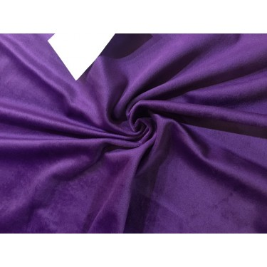 high quality velvet fabric- PURPLE #magnum# -Width of the fabric is 142 Cm ( 56 inches ) .