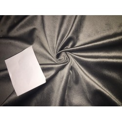 high quality velvet fabric- GREY #magnum# -Width of the fabric is 142 Cm ( 56 inches ) .