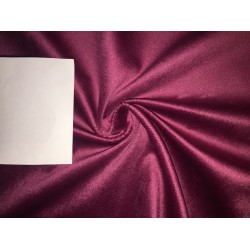 high quality velvet fabric- BURGUNDY #magnum# -Width of the fabric is 142 Cm ( 56 inches ) .