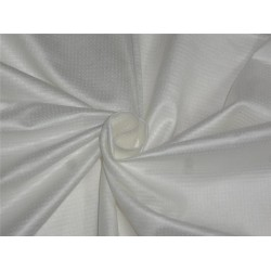 Tussar / Viscose dobby design fabric ivory color 44''wide B2#116[2]
