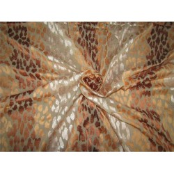 """100% SILK georgette heavily embroidered 44"""" B2#89"""