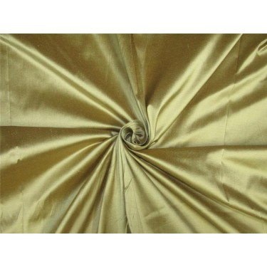 """100% pure silk dupioni fabric old gold color 54"""" DUP#261[2]"""