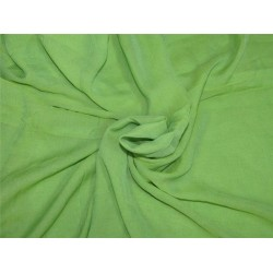 Green color crinkle chiffon fabric 44''wide PKT#7