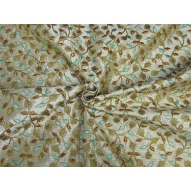 Intricate embroidered fabric 44''wide BRO651[3]