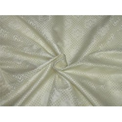"""Brocade Fabric ivory white and gold Color 56""""wide Bro653[1]"""
