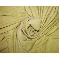 Silver shimmer lycra fabric GOLD color 58''WIDE FF13[1]