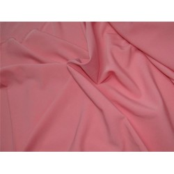 "Scuba Crepe Stretch Jersey Knit Dress fabric 58"" fashion peachy pink B2 #85[3]"