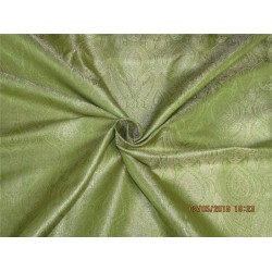 "100% PURE SILK DUPIONI FABRIC GOLDEN GLOW COLOR 54"" WITHOUT SLUBS*"