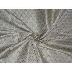 """Brocade fabric Dusty Olive Green Color 44"""""""