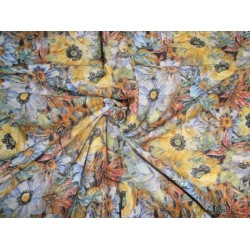 """digital cotton  floral  printed fabric-44""""wide"""