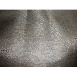 gorgeous Brocade Fabric cream,mettalic Gold