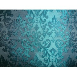 "BROCADE jacquard FABRIC green / pale green COLOR 44"" wide BRO259[6]"