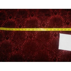 embossed  micro Velvet fabric-deep wine mixbkA[5]