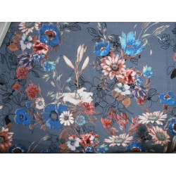 """Modal printed fabric 58"""" wide-floral"""