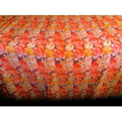 pure silk CDC crepe DIGITAL printed fabric 16 mm weight B2#101A[6]