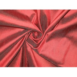 "SILK Dupioni FABRIC 54"" Burgundy Red Colour dup5[2] by the yard"