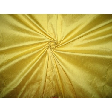 """SILK Dupioni FABRIC 54"""" Lime Yellow Colour sold by the yard"""