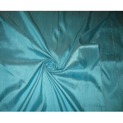 "SILK Dupioni FABRIC 44"" Baby Blue colour"