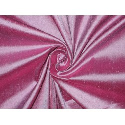 "SILK Dupioni FABRIC 44"" Lavender x pink shot colour"
