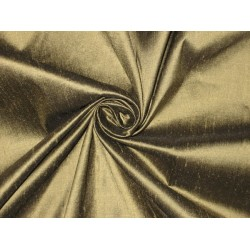100% Pure SILK Dupioni FABRIC Ash Brown 54""